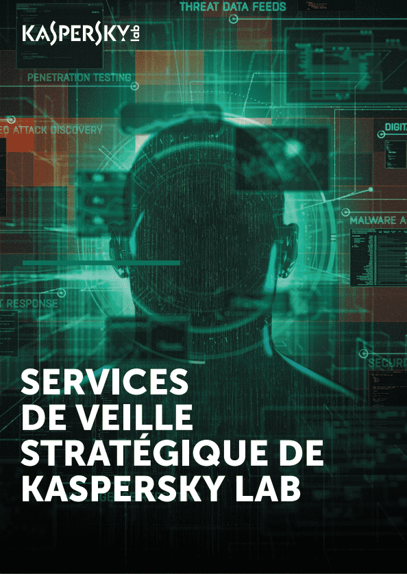 Catalogue des services Kaspersky Lab